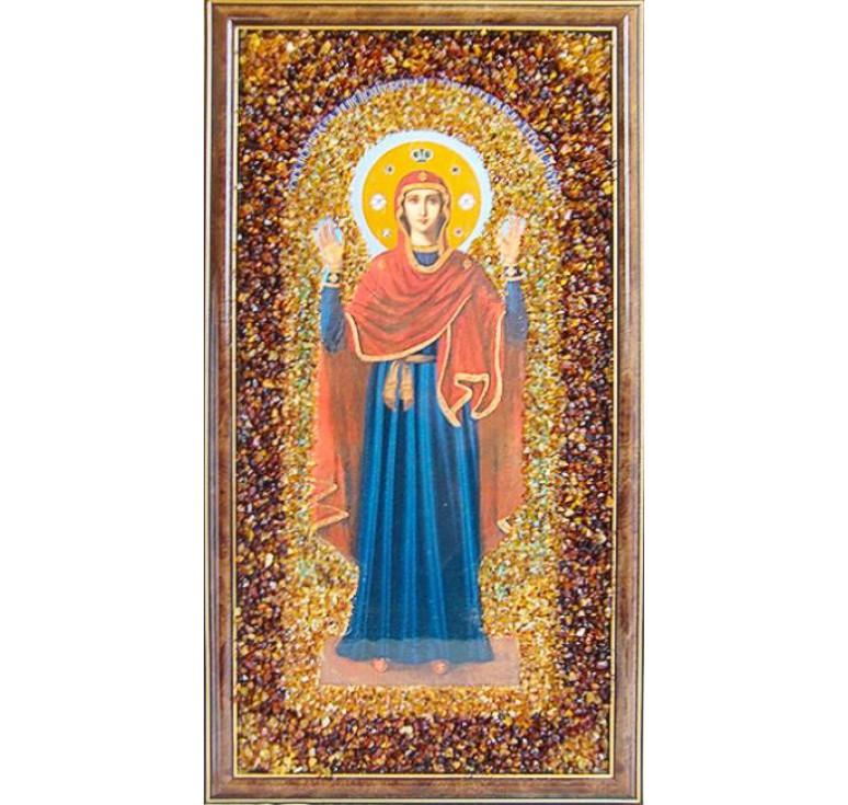 Икона из янтаря Нерушимая стена