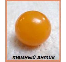 """Шары из натурального янтаря """"Темный Антик"""""""
